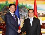 Thủ tướng Nguyễn Tấn Dũng tiếp Thủ tướng Lào