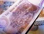 Tài khoản vãng lai của Hàn Quốc thâm hụt 772,2 triệu USD