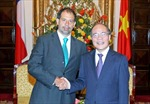 Chủ tịch Thượng viện Chilê thăm Việt Nam