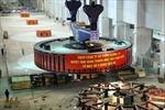 Lắp đặt thành công rô to tổ máy số 5 tại thuỷ điện Sơn La
