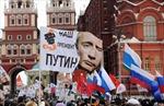 Mít tinh mừng chiến thắng ông Putin