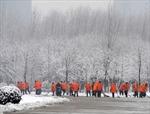 Tuyết rơi dày ở Trung Quốc