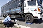 Thí điểm cân điện tử di động để phát hiện xe quá tải