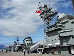 Tàu khu trục Mianma cập cảng Tiên Sa