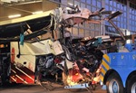 Tai nạn xe buýt trong đường hầm, 28 người thiệt mạng