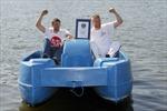 Cựu VĐV Anh nỗ lực lập 12 kỷ lục Guinness