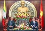 Chủ tịch QH tiếp Tổng thống Mianma