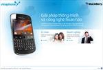 VinaPhonegiảm 50% cước dịch vụ BlackBerry