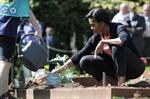 Đệ nhất phu nhân Mỹ trồng rau cùng học sinh