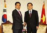 Thủ tướng Nguyễn Tấn Dũng hội kiến với Thủ tướng Hàn Quốc