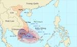 Bão số 1 giật cấp 12, cách bờ biển Ninh Thuận – Bà Rịa Vũng Tàu 190km