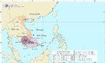 Bão số 1 tiến thẳng vào Ninh Thuận - Vũng Tàu