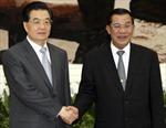 Trung Quốc và Campuchia thúc đẩy quan hệ hợp tác chiến lược