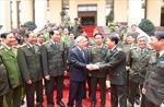 Tổng Bí thư làm việc với Tổng cục xây dựng lực lượng CAND