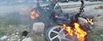 """""""Phóng hỏa"""" xe máy của vợ"""