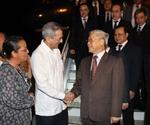 Tổng Bí thư bắt đầu thăm hữu nghị chính thức Cộng hòa Cuba