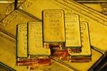 Giá vàng vọt lên mức cao nhất của tuần  qua
