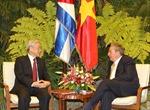 Hội đàm cấp cao Việt Nam - Cuba