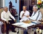 Tổng Bí thư Nguyễn Phú Trọng thăm Lãnh tụ Cuba Fidel Castro