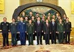 Tổng Tham mưu trưởng Quân đội Nhân dân Việt Nam hội kiến Phó Chủ tịch Trung Quốc