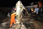 Hình ảnh vụ rơi máy bay thảm khốc tại Pakixtan