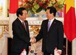 Thủ tướng Nguyễn Tấn Dũng hội đàm với Thủ tướng Nhật Bản
