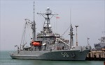 Tàu hải quân Hoa Kỳ cập cảng Tiên Sa