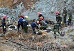 Đã tìm thấy 4 trong 5 thi thể nạn nhân trong vụ sạt lở bãi thải Mỏ than Phấn Mễ