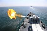Trung- Nga tập trận bắn đạn thật