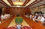 Bộ Chính trị cho ý kiến về tình hình phát triển kinh tế - xã hội