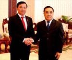 Lãnh đạo Lào tiếp Đoàn cấp cao Kiểm toán Nhà nước Việt Nam