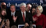 Bầu cử Mỹ: Ông Newt Gingrich bỏ cuộc