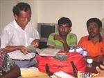 Cứu hộ 7 thuyền viên nước ngoài bị nạn trên biển