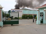 Cháy lớn tại khu công nghiệp Biên Hoà 1