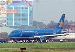 Máy bay Vietnam Airlines nổ lốp khi hạ cánh