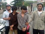 Hiệp sĩ đường phố bắt các đối tượng lừa đảo qua internet