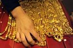 Vàng xuống mức thấp nhất kể từ tháng 1/2012