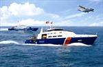Cảnh sát biển bắt giữ kịp thời một tàu chở 1.400 tấn than cám trái phép