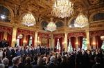 Hình ảnh ông Hollande nhậm chức tổng thống Pháp