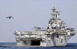 Tàu hải quân Mỹ đâm nhau ở ngoài khơi California