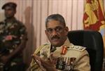 Xri Lanca trả tự do cựu Tham mưu trưởng lục quân