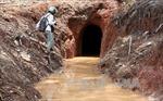 Lâm Đồng: Phong tỏa hiện trường khai thác thiếc trái phép trong Thung lũng Tình Yêu