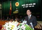 Kỳ họp thứ 3, Quốc hội khóa XIII: Sáu giải pháp tháo gỡ khó khăn, thúc đẩy tăng trưởng kinh tế
