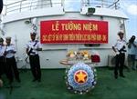 Lễ tưởng niệm các liệt sỹ hy sinh trên thềm lục địa phía Nam