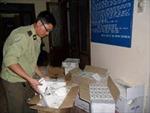 Bắt quả tang vụ vận chuyển 4.000 gói thuốc lá lậu