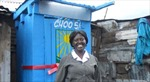 """Người dân Kênia vĩnh biệt nhà vệ sinh """"bay"""""""