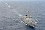 Hàn Quốc, Ôxtrâylia tập trận hải quân chung