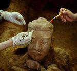 Khai quật nhiều binh mã đất nung thời Tần Thủy Hoàng