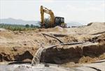 Khác cát trái phép ở Vĩnh Phúc: Cần biện pháp mạnh
