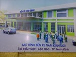 Bến xe Nam Định... chờ khách